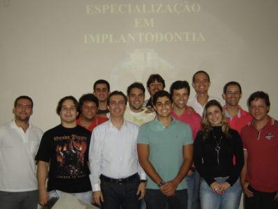 Alunos da 6ª Turma de Especialização em Implantodontia - 02