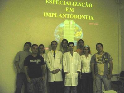 Alunos da 4ª Turma de Especialização em Implantodontia - 01