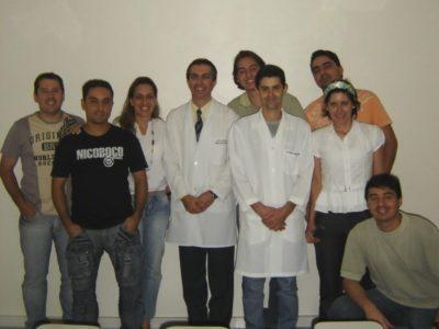 Alunos da 5ª Turma de Especialização em Implantodontia