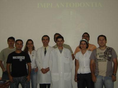 Alunos da 4ª Turma de Especialização em Implantodontia - 02